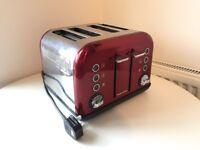 Morphy Richards 4 Slice Toaster (Hardly Used)