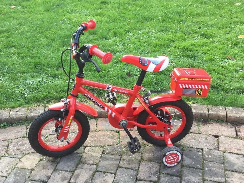 "Apollo Bike - 12"" Firechief bike"
