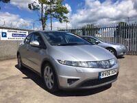 Honda Civic 2.2 i CTDi Sport 5dr / Diesel / Only 1 Owner Since New