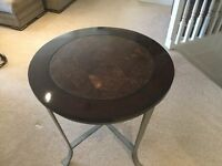 Lamp table( American style antique metal legs)