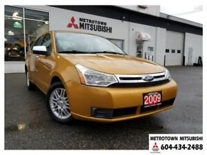 2009 Ford Focus SE; Local BC vehicle!
