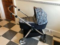 Mamas & Papas Armadillo Flip XT Liberty Pushchair & Carrycot Travel System