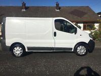 Vauxhall Vivaro 2005 genuine excellent allround van.