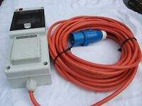 Mobile Mains Supply unit for Motorhome/Caravan/home use
