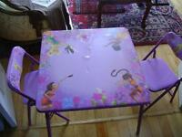 toys child's table & chairs