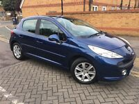 2008 Peugeot 207 1.6 VTi Sport Automatic Hatchback 5dr Low Mileage Long MOT Smooth Drive Lady Owner