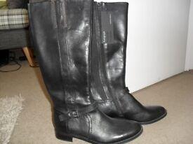 Autograph Leather Boots