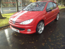Peugeot 206 GTi 180 *Quick sale* may swap / px