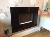 Modern electric fireplace
