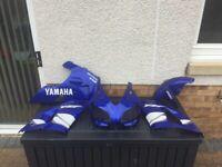 Yamaha R1 4XV 1999 Blue Fairings for sale  Kilmarnock, East Ayrshire