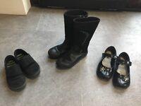 Size 9.5-10 Girls School Footwear