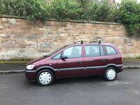 Vauxhaull zafira 1.6 ,, 7 seater ,, £550 no offers
