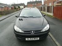 Peugeot 206 For Sale. Spares Or Very Easy Repairs.