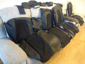 Audi A4 B8 S Line Leather effect vinyl seat covers