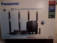 Panasonic 3d blu-ray player sound system