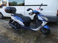 Sinnis Shuttle 125cc Scooter 2016 - Low Mileage and Recent Service