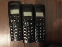 Cordless Phones - BT Graphite 1500 Trio