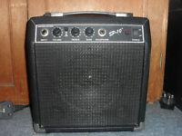 Fender SP 10 practice amp for sale.