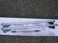 135cm UNIVERSAL CAR ROOF AERO BARS RACK ALUMINIUM LOCKING CROSS RAILS