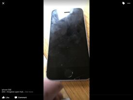 iPhone 5SE some hairline cracks but in good condition otherwise