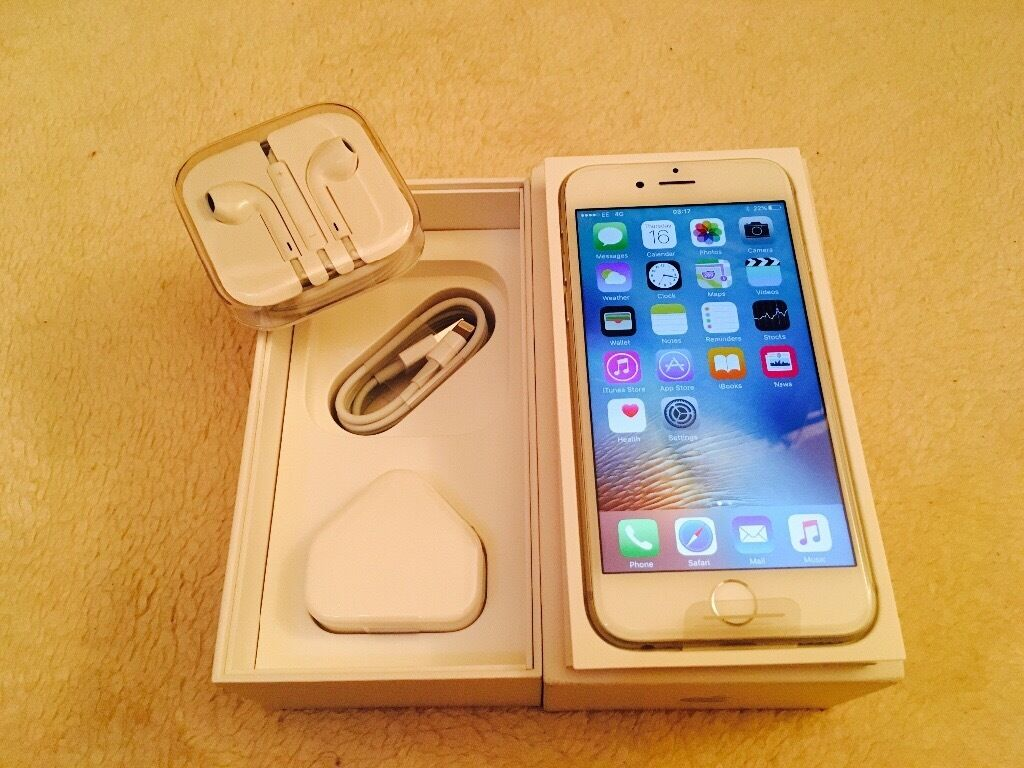 Apple iPhone 6S 32GB silver brand new in box with all accessories Proof of receipt warranty forsalein LondonGumtree - Apple iPhone 6S 32GB silver brand new in box with all accessories Proof of receipt warranty for sale iPhone 6S 32GB sliver Colour its fully boxed with all assessories Its has apple warranty with it Comes with proof of receipt that will be given at...