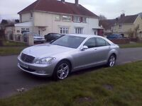 Mercedes S Class 320cdi ( LOW MILEAGE) 1 OWNER FMBSH