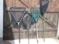 TROUT FISHING - 4 x LANDING NETS