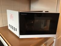 SHARP R272WM Solo Microwave - White Bought from Curry's 3 months ago for £69.99