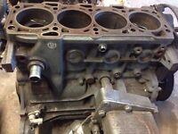 vauxhall zafira 2008 cdti bottom engine block complete