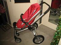 Quinny Buzz 4 Wheeler Pram and Stroller.