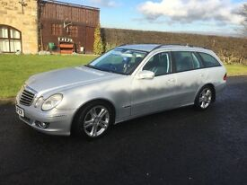 Mercedes E320 Estate Avantgarde 2006, Metallic Silver, 7 Seater