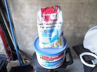 Tiles adhesive and anti-mould grout
