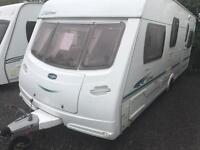 Lunar ultima 2005 fixed bed with motor mover and awning touring caravan
