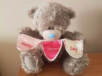 """Me-to-You large """"Happy Birthday"""" bear- excellent condition- £10 ono"""