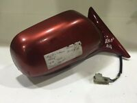 GENUINE SUBARU IMPERZA WRX RED 2002 DRIVERS SIDE OFF SIDE WING MIRROR 013350