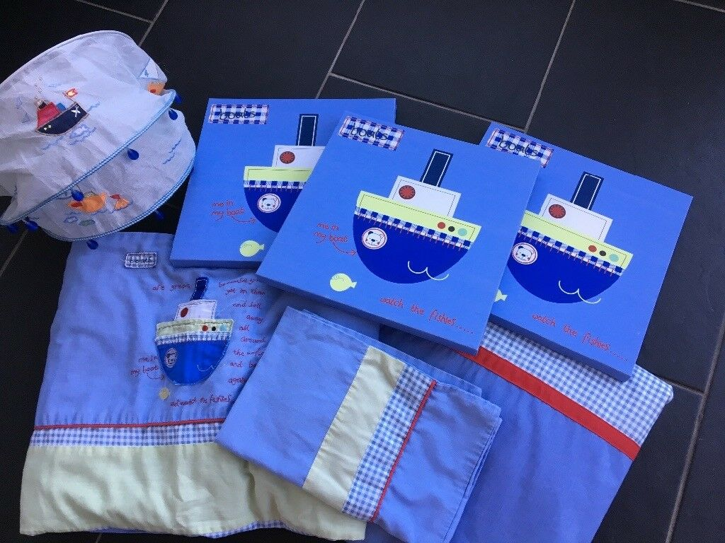 Baby Boys Nursery/Bedroom Bundle