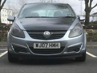 2007 (May 07) VAUXHALL CORSA 1.4i 16V SXi - Hatchback 5 Doors - Petrol - Manual - GREY *FULL MOT/PX