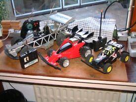 Three Radio Controlled Cars