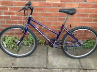 Ladies Raleigh Good Working Condition 26 Inch Wheels 16 inch Light Weight Frame 10 Speed Gears