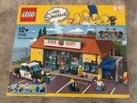 Lego The Simpson's Kwik E Mart rare retired set BRAND NEW IN BOX