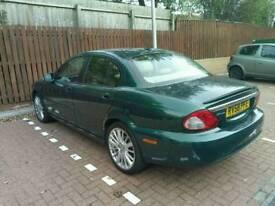 Jaguar x type 58 plate/ full service history