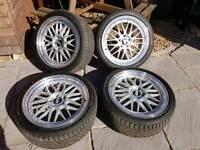 BBS Replica Wheels fit VW T4 Van Camper