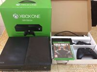 Xbox one 500GB With 1 game.