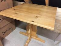 Pine dining / kitchen table