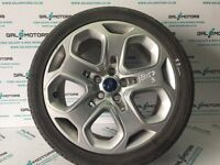 FORD MONDEO MK4 2007-2010 ALLOY WHEEL R18 WITH 5.8 MM TYRE EO58-3