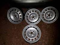 Vw , vag steel wheels 5x112 pcd