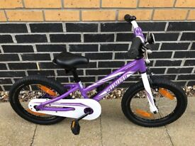 Purple Hotrock Specialized Girls Bicycle (including stabilisers)