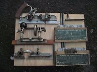 Stanley No. 45 Multi Plane, Accessories & 2 Boxes of Blades