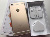 IPhone 6s gold 16gb ( o2 giff gaff )
