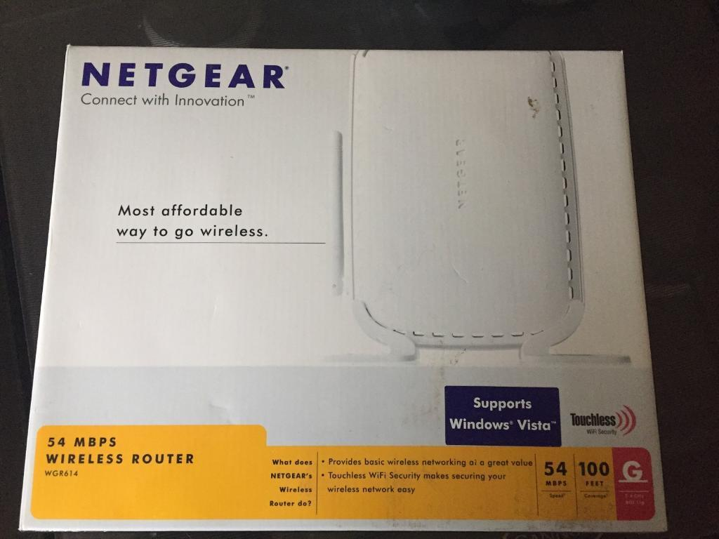 Wireless router netgear